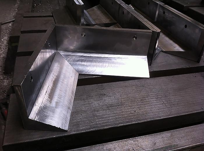 Hardox450-500 Beton Parke Kalıpları