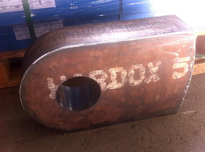 Hardox500 Konkasör Çekici